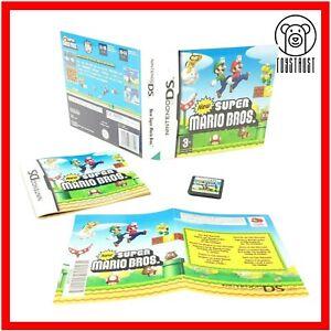Super Mario Bros Nintendo DS 2D Juego PAL Reino Unido PEGI 3+ niños 2006