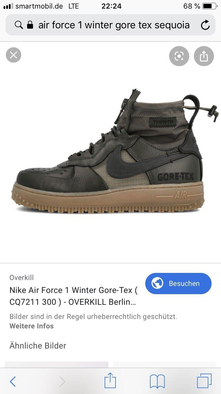 Nike Air Force 1 Hi GORE-TEX Winter EU42 , 1,2,3,4,5,6,7,8,9,0