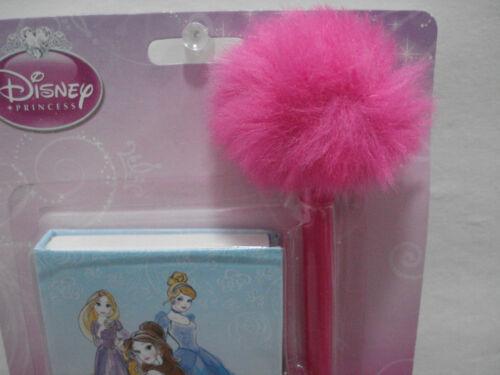 Disney Princess Mini Diary with Pen Sketch Drawings Belle Cinderella Rapunzel