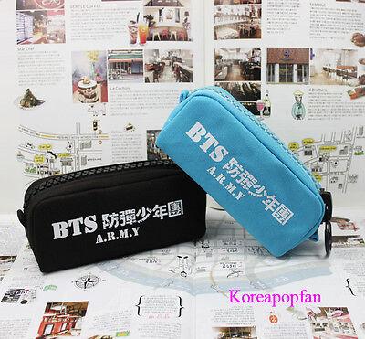 BTS Bangtan Boys Jung Kook jhope jin jimin v suga canvas pen case goods Kpop New
