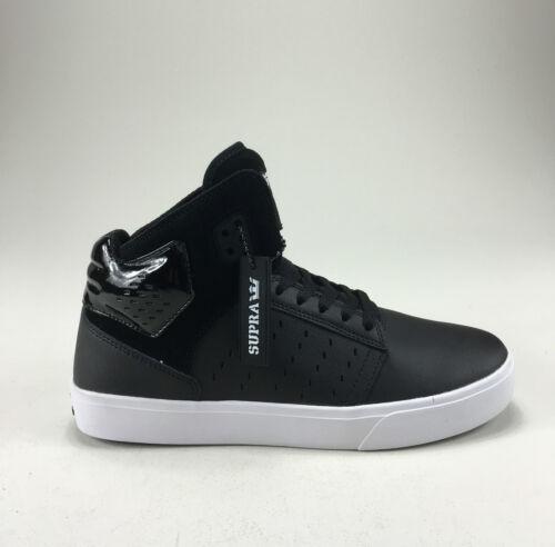 Scarpe Supra In 7 Atom Box Nero Shoes Misura ginnastica Skate bianco 9 New da UK qqHS4tnr