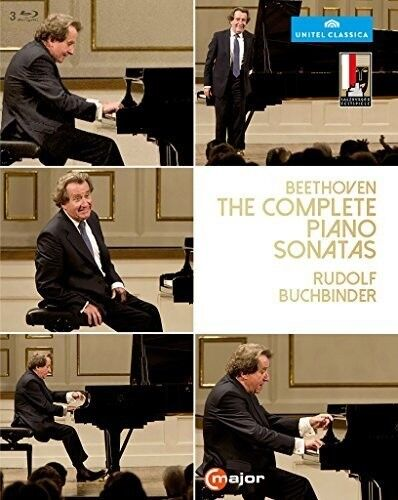 Rudolph Buchbinder - Beethoven: The Complete Piano Sonatas [New Blu-ray]