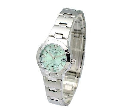 -Casio LTP1241D-3A Ladies' Metal Fashion Watch Brand New & 100% Authentic