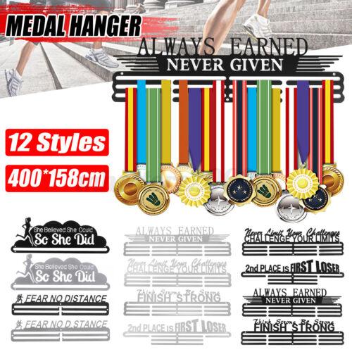 Metal Medal Hanger Display Sport Running 30-45 Medal Holder Rack Decoration