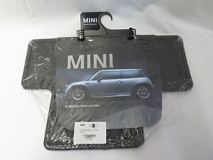 Passenger /& Rear Floor 2006 Mini Cooper Convertible Black Loop Driver GGBAILEY D4038A-S1A-BK-LP Custom Fit Car Mats for 2005