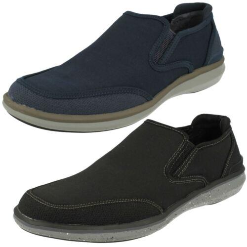 quality design bb929 26813 Hombres para Nason On Slip charcoal Pumps Helston Skechers Mark Casual  68130 Navy qggArE