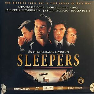 SLEEPERS-WS-VO-STFR-PAL-LASERDISC-Robert-De-Niro-Kevin-Bacon-Brad-Pitt