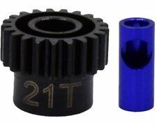 Hot Racing 21t Steel Mod 0.6 Pinion Gear 5mm NSG21M06
