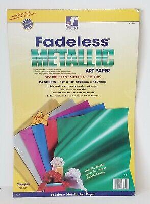 Fadeless Metallic Sheet Assortment 12 x 18 Pack of 24