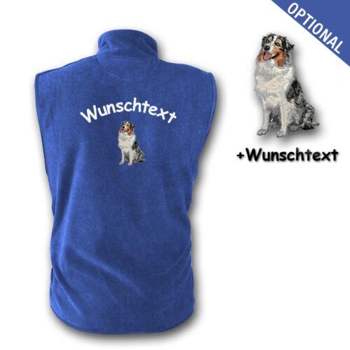 brodᄄᆭ une chien Sweat de nommᄄᆭ Australien broderie avec gilet Berger v0nmN8w