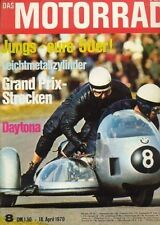 "M7008 + KREIDLER Florett ""RS"" + MAICO MD 50 + Das MOTORRAD 8/1970"