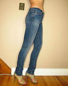 Jambes Mish Havre Haute Fines Taille Jeans Fabriqué Célébrité Londres Fave En YwIF5qSx