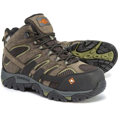 Merrell Men/'s Moab 2 Vent Mid Composite Toe Work Boots