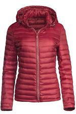 Trisens Damen Übergangsjacke Strass Zipper Steppjacke Frühlingsjacke Jacke Top
