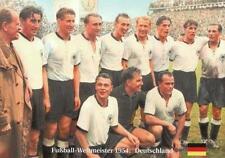 Fußball Weltmeister 1954 - DEUTSCHLAND Das Team + BigCard #106 + Wunder von Bern
