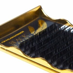 Black-Feather-individual-eyelash-extensions-lightest-lash-C-curl-0-07-mix