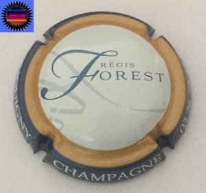 Capsule de Champagne FOREST REGIS Contour Bleu Fond Blanc NR !!!