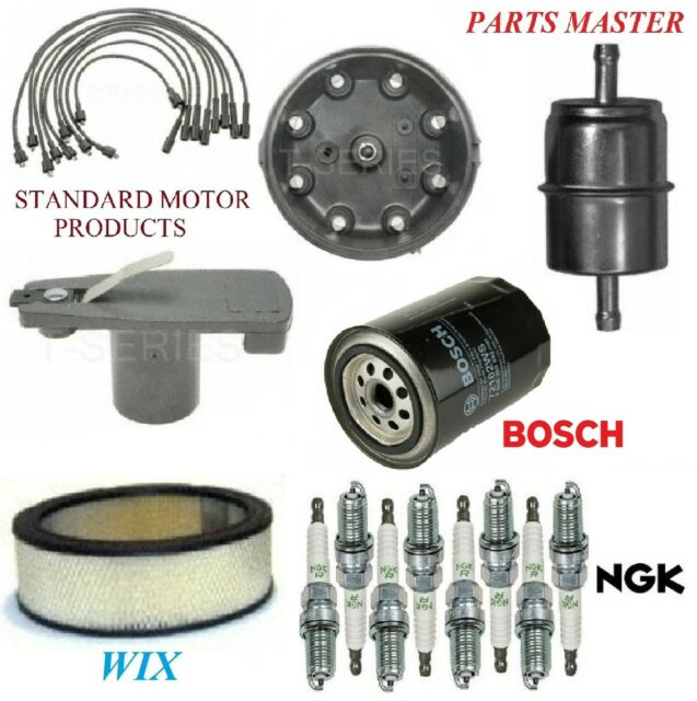 Tune Up Kit Filters Cap Wire Plugs For DODGE W300 PICKUP