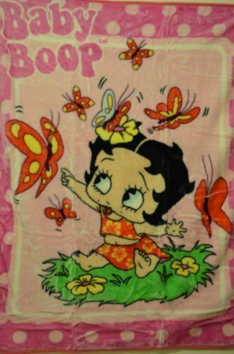 Baby Betty Boop Blanket 100x140cm