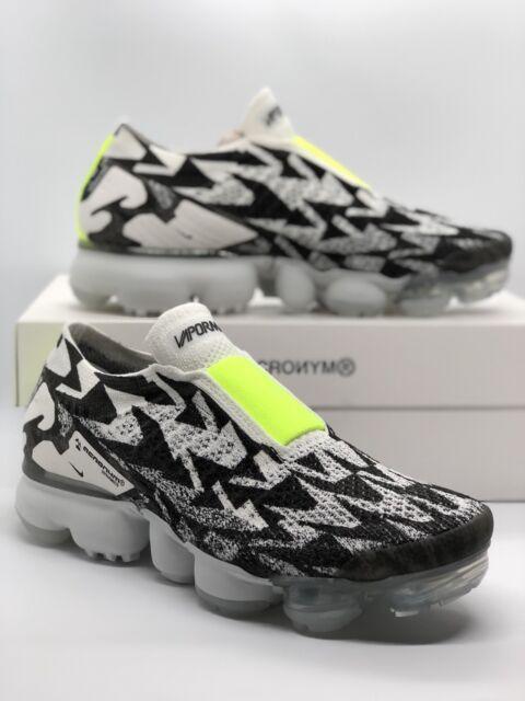 the latest 1affe de262 Nike Air Vapormax Acronym MOC 2 Light Bone Volt Black Size 5 DS Aq0996-001