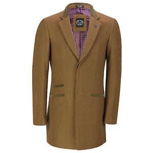 giacca lunga beige uomo