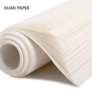 50-Hojas-De-Tinta-de-caligrafia-china-Xuan-papel-papel-de-escribir-Sumi-Cepillo-Papel-De-Arroz