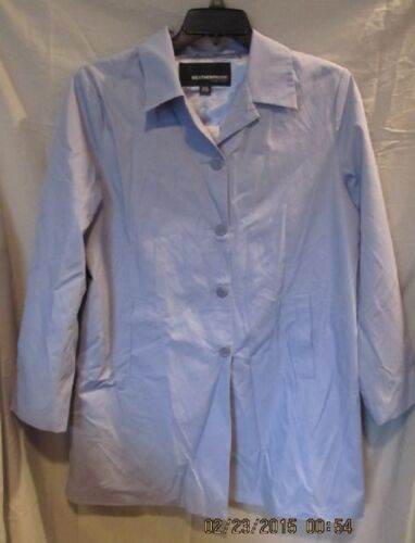 120 Women's Periwinkle L Raincoat Fra Sz Weatherproof; Great Ret Nwtgs Blue; PSzxqgBww