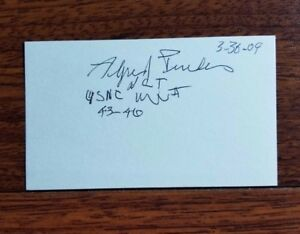 RARE-034-Navajo-Code-Talker-034-Alfred-Peaches-Signed-Index-Card-JG-Autographs-CoA