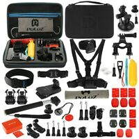 PULUZ 53 in 1 Accessories Total Ultimate Kit with EVA Case for GoPro HERO Camera