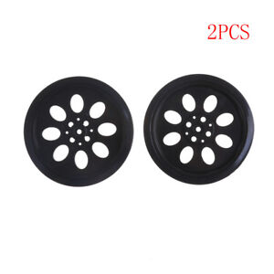 2PFH 70mm T25 Rubber Wheels Match 360 Degree Servo Wheels Parts For DIY Robot FH