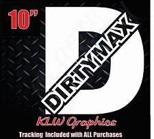 Dirtymax duramax D * vinyl decal sticker turbo diesel 4x4 truck 2500 stacks 3500