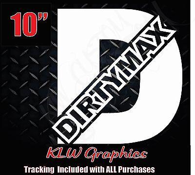 """32/"""" Dirtymax Duramax Vinyl DECAL Sticker Diesel TRUCK 2500 3500 4x4"""