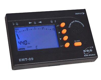 6EC1 Capo Tuner Metronom Schwarz Ukulele Werkzeug Für Stimmgerät