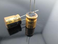 1PC Original Nichicon FW 220uf 50V Audio Capacitor for audio cap hifi diy (B57)