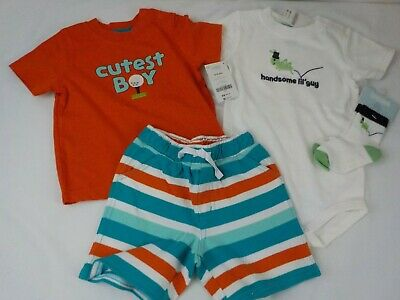 New Nwt Lot 12 18 Months Baby Boys Clothes Summer Shorts Sets Gymboree Shirts Ebay