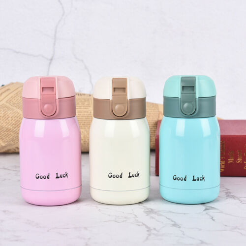 Mini Thermos Stainless Steel Vacuum Cup Light Portable Kids Water Bottle Mug TPI