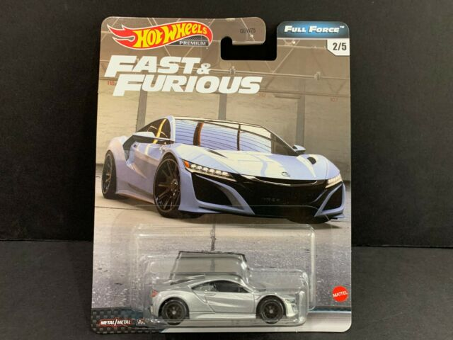 Hot Wheels Acura NSX 2017 Fast and Furious Full Force GBW75-956H 1/64
