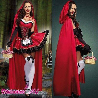 Little Red Riding Hood Oktoberfest Halloween Fancy Dress Fairy Tale Costume