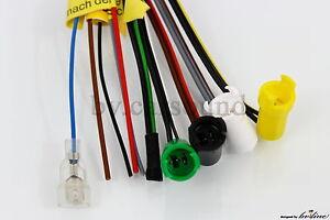 Mercedes-Becker-Adapter-Kabel-4-x-Lautsprecher-R129-W124-W140-Anschlusskabel