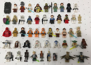 Star-Wars-original-LEGO-lot-of-50-different-OFFICIAL-LEGO-Mini-Figures