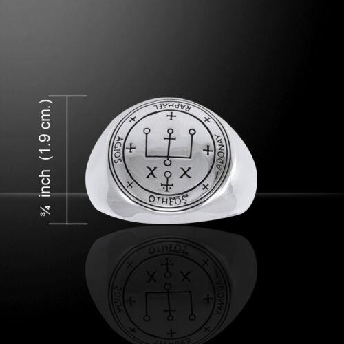 Sigil Of Erzengel Raphael .925 Sterlingsilber Ring von Peter Stone