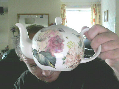 FLOWER DECORATED TEAPOT GREAT GIFT! REDUCED TO CLEAR!