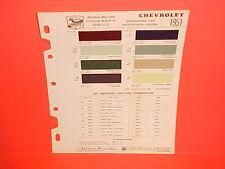 1951 CHEVROLET SPECIAL DELUXE FLEETLINE STYLELINE CONVERTIBLE BELAIR PAINT CHIPS