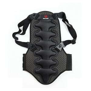 Motorcycle Back Protector Detachable Body Armor Safety Skating Skiing Sport Gear