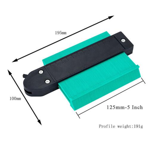 Contour Gauge Duplicator w// Lock Profile Gauge Wood Shape Marking Measure Tool