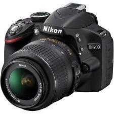 Nikon D3200 Digital SLR Camera - Black w/AF-S DX 18-55mm 1:3.5-5.6G VR Lens
