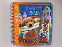 Houghton Mifflin Historia Y Ciencias Sociales Guia Del Maestro 0618631070