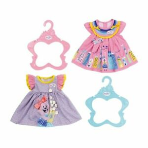 Baby-Born-Dress-Dresses-Outfit-For-43cm-Baby-Dolls-Zapf-Creation