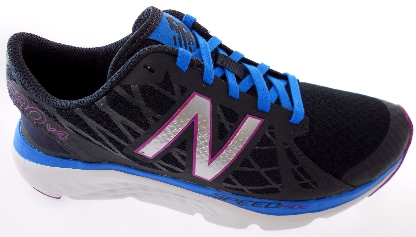 NEW BALANCE W690GS4 WOMEN'S BLACK blueE RUNNING SHOES