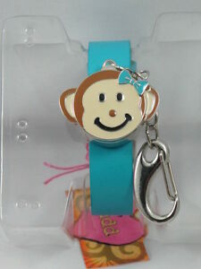 A43-New-19-99-MUDD-Women-Digital-Watch-from-USA-Blue-Band-with-Flip-Cover